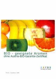 BIO - geei nete Aromen - Fischer Group