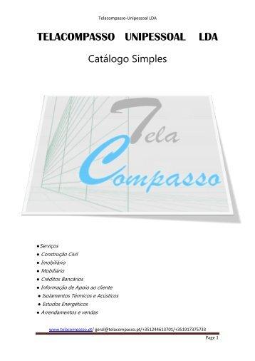 Catálogo Simples 2013 - telacompasso