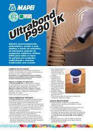 Ultrabond P990 1K Ultrabond P990 1K - Mapei