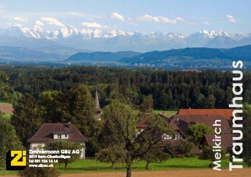 Meikirch Traumhaus - Zimmermann Generalbauunternehmung AG