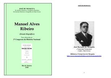 Manoel Alves Ribeiro - Biblioteca Virtual José de Mesquita