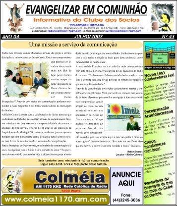 Uma missão a serviço da comunicação - Arquidiocese de Maringá