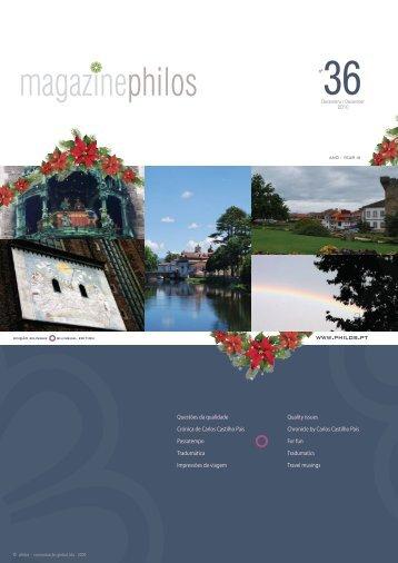 Magazine - philos - comunicação global, lda