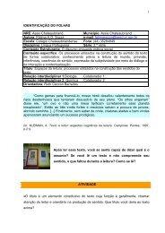 1 IDENTIFICAÇÃO DO FOLHAS NRE: Assis Chateaubriand ...