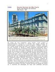 1846 Escola Normal de São Paulo - Centro de Referência em ...