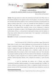 Helvécio Pinto do Nascimento - XVIII Encontro Regional (ANPUH-MG)