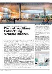 Die metropolitane Entwicklung sichtbar machen