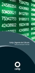 A-Folheto Agente de Calculo.indd - Cetip