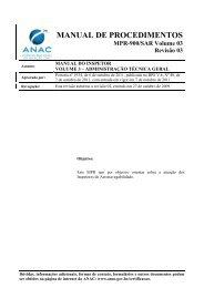 MANUAL DE PROCEDIMENTOS - Anac