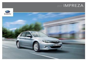 2011 IMPREZA - Automotora Suiza