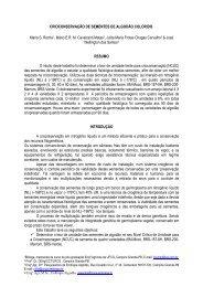 CRIOCONSERVAÇÃO DE SEMENTES DE ... - Embrapa Algodão