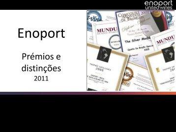 Apresentação Prémios 2011 - Enoport
