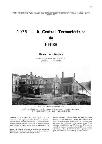 A Central Termoeléctrica do Freixo - Faculdade de Engenharia da ...