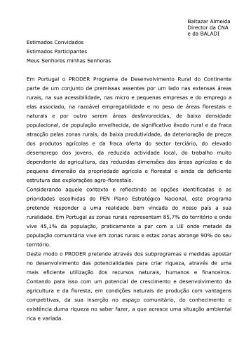 Baltazar Almeida (BALADI) - CNA