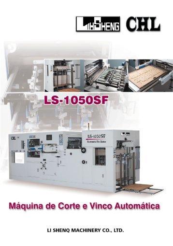 Máquina de Corte e Vinco Automática - Imexla