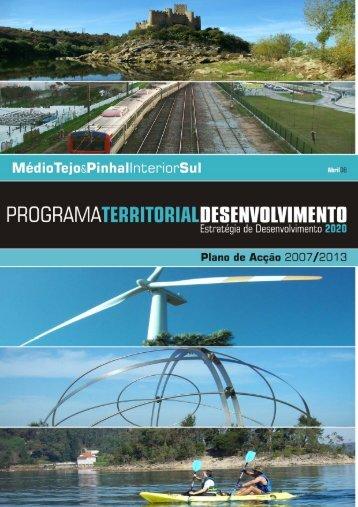Plano Territorial de Desenvolvimento do Médio Tejo e Pinhal ...