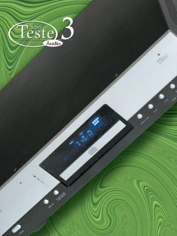 Teste 3 Áudio – Cary CDP-1 - Logical Design