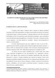 Os jornais paraibanos do século XIX como fonte para a História da ...