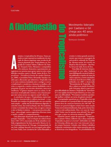 A (in)digestão - Revista Pesquisa FAPESP