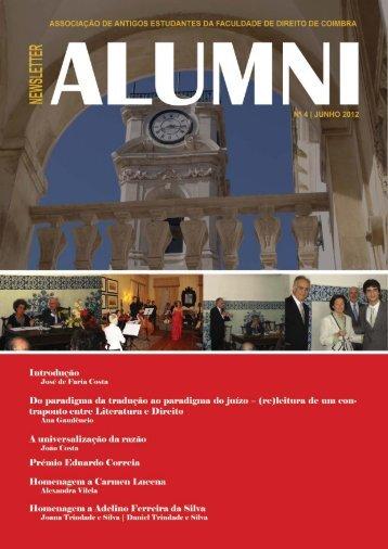 Número 4 | 2012 - Faculdade de Direito da Universidade de Coimbra