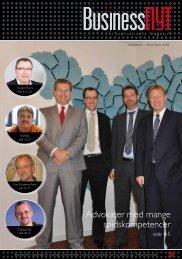 Advokater med mange spidskompetencer - Business Nyt
