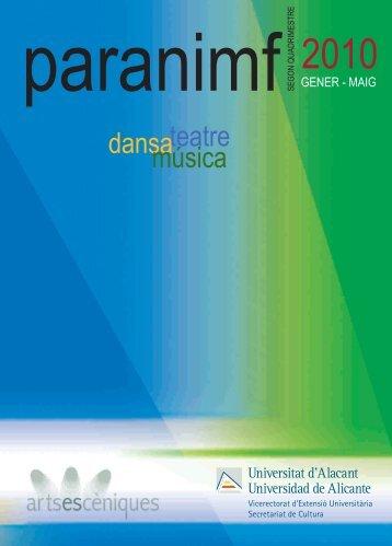 paranimf - VEU - Universidad de Alicante