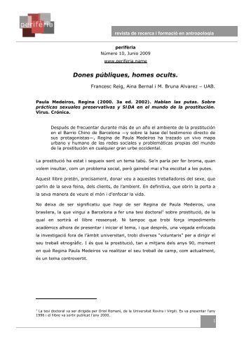 Dones públiques, homes ocults. - Redes. Revista hispana para el ...