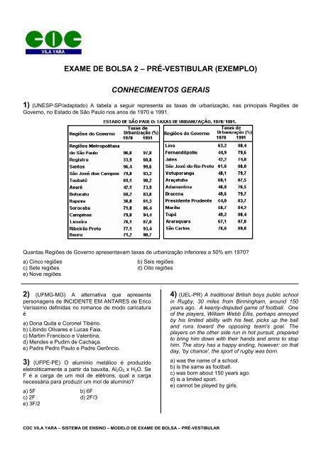 a628b99ef exame de bolsa 2 - COC - Vila Yara - 1