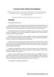 Convenció sobre l'estatut dels refugiats - ANUE