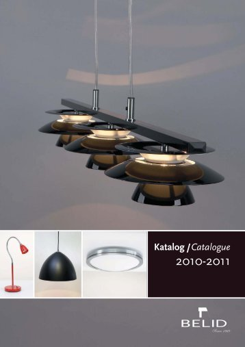 Katalog / Catalogue - Kataloger Design Belysning AS