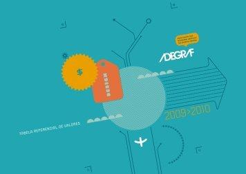 Tabela Adegraf 2010 - Associação dos Designers Gráficos do ...