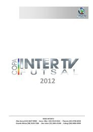 copa_intertv_de_futsal - Comercial Rede Globo