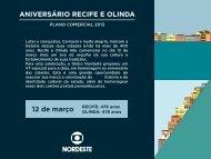 Plano Comercial - Aniversário Recife e Olinda - Globonordeste ...
