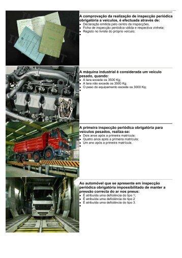 Classificação de Veículos e Inspecções Periódicas - Imtt