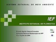 INSTITUTO ESTADUAL DE FLORESTAS