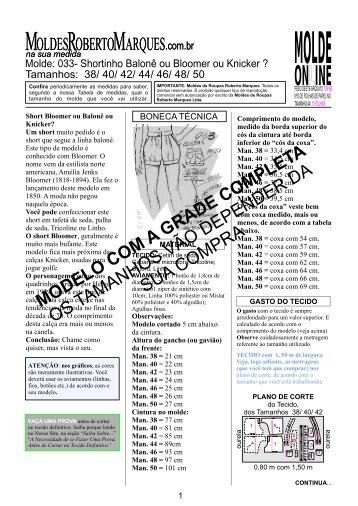 2 - Moldes Roberto Marques