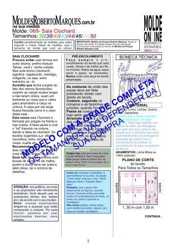LAYOUTmolde-069_Saia Clochard_VER - Moldes Roberto Marques