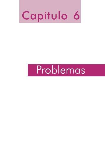 Capítulo 6 Problemas