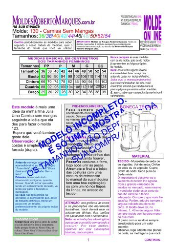 MOLDE-130-camisa~sem mangas_Ver - Moldes Roberto Marques