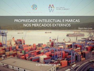 propriedade intelectual e marcas nos mercados externos