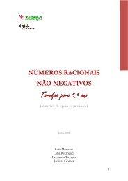 Números racionais não negativos - Escola Superior de Educação ...