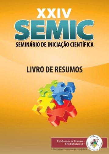 uploads/files/Livro de Resumos SEMIC 2012.pdf - PPPG - Ufma