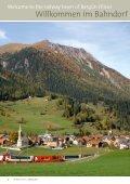 Aussteigen bitte. Basisinfo zum Bahndorf Bergün/Filisur - Seite 2