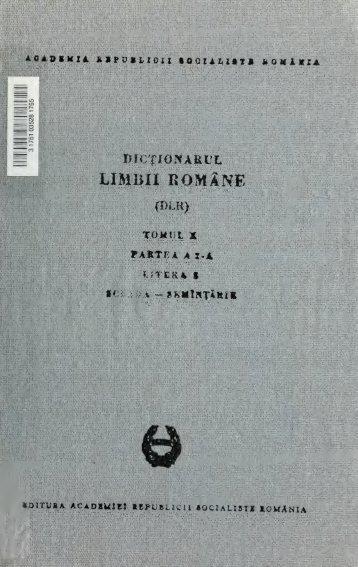 Dicionarul limbii române (DLR), Serie nou