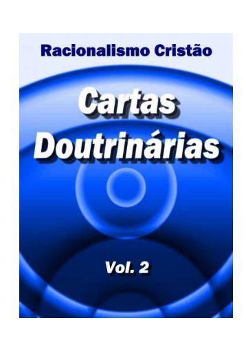 Cartas Doutrinárias - Racionalismo Cristão