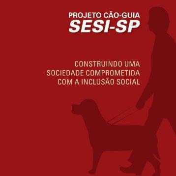 Projeto Cão-Guia Sesi-SP