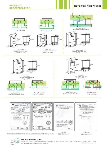 Wiring Diagram 1 DEM510C