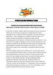 PRESSEINFORMATION - Heide Park