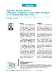 Disjuntor Palatino Faltin Jr. Alterações Dentofaciais ... - Dental Press