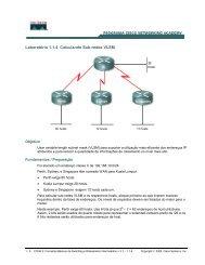VLSM – Redes de Máscara Variável - LSI